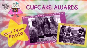 Her Campus at the She's The First Cupcake Bake-off