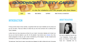 Goodnight Tasty Cakes Website